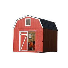 6 X 8 Gambrel Shed Plans by Shop Heartland Common 12 Ft X 10 Ft Interior Dimensions 10 Ft