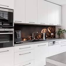 dedeco küchenrückwand motiv kaffee v1 3mm aluminium