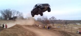 100 Truck Jumping This Is One Of The Coolest Jumps Ever Holy Horse Power