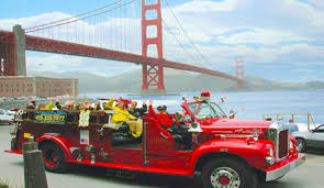Experience San Francisco From On Board A Vintage Fire Truck - Bay ... Koja Kitchen Truck San Francisco Food Trucks Roaming Hunger Fire Photos Kenworth Pumper Engine 1 Sffd Youtube Driver Garbage American Simulator To Las Vegas Gameplay Smothered Fries New Years Day Brunch Funcheapsfcom 10 Essential For Summer Eater Sf Truck California Usa Stock Photo Royalty Has Nowhere Put Collection Of 100yearold Antique Fire Spartanerv Department Ca Jesus Free Image