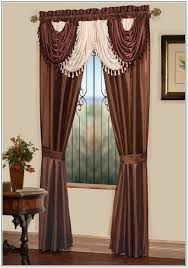 Waterfall Valance Curtain Set by How To Make A Waterfall Valance Curtain Archives Torahenfamilia