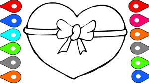 Art For Kids Learn To Draw Heart Shape Painting Children