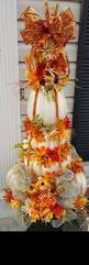 Fake Carvable Plastic Pumpkins by Best 25 Fall Topiaries Ideas On Pinterest Pumpkin Topiary Urn