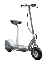Like Most Razor Electric Scooters The E300S Is Equipped With A High Torque Chain Driven Motor And Hand Operated Rear Brake But It Goes Extra Mile