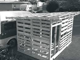 How to Build a Garden Shed Out of Pallet Wood Farm and Garden