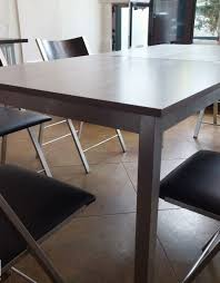 Echo Small Square Folding Table That Doubles In