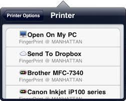 print ipad iphone existing printer windows mac