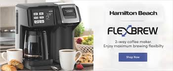 Hamilton Beach Watch How The FlexbrewR 2 Way Coffee Maker Makes Perfect Every Morning Using Your Favorite Whether You Need Just One Cup Or A