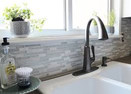 Pfister Pasadena Faucet Amazon by Remodelaholic Grey And White Kitchen Makeover
