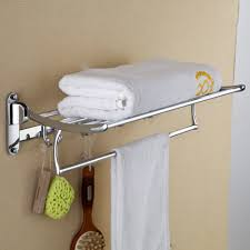 Bathroom Towel Hooks With Shelf | Creative Bathroom Decoration Hanger Storage Paper Bathro Ideas Stainless Towel Electric Hooks 42 Bathroom Hacks Thatll Help You Get Ready Faster Racks Tips Cr Laurence Shower Door Bar Doors Rack Diy Decor For Teens Best Creative Reclaimed Wood Bath Art And Idea Driftwood Rustic Bathroom Decor Beach House Mirrored Made With Dollar Tree Materials Incredible Hand Holder Intended Property Gorgeous Small Warmer Bunnings Target Height Style Combo 15 Holders To Spruce Up Your One Crazy 7 Solutions Towels Toilet Hgtv