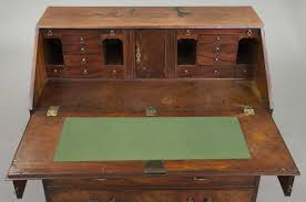 Drop Front Writing Desk by Georgian Mahogany Drop Front Bureau Chest Desk For Sale At 1stdibs
