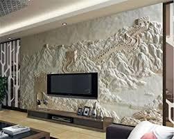 tapete mauer relief chinesische tv hintergrund wand wandbild