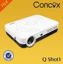 Led mini pocket projector for Iphone 5 lowest price Concox Q shot1