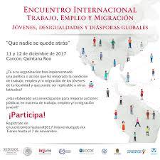 Convocatoria Encuentro Internacional U201cTrabajo Empleo Y