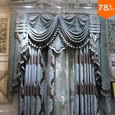 ultimative luxus samt vorhänge silber grau blau klassische designer wohnzimmer schlafzimmer vorhang schlafsaal esszimmer vorhang