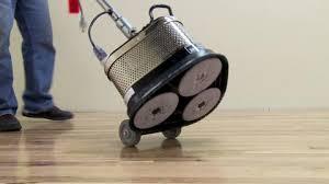 Varathane Floor Sander Machine by Random Orbit Floor Sander Rental The Home Depot