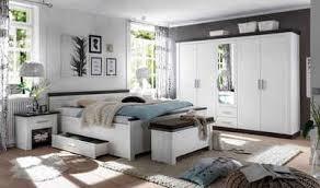home affaire schlafzimmer set siena set 4 tlg 5trg kleiderschrank bett 180 cm 2 nachttische