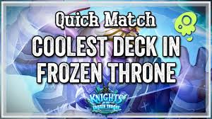 Hunter Hearthstone Deck Kft by Hearthstone Quick Match U2014 The Coolest Deck In Kft Youtube