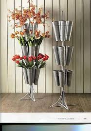 Silk Flower Display Rack Round Wonder If Knitting Or Crochet Needles Could Be Stored In