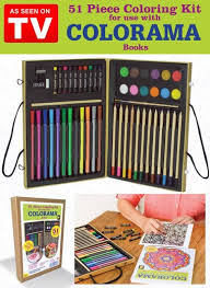 Colorama 51 Piece Coloring Kit