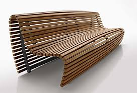 outdoor bench seating modern outdoor wood bench by b u0026b italia