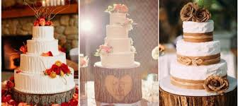 20 Rustic Tree Stumps Wedding Cakes For Your Country