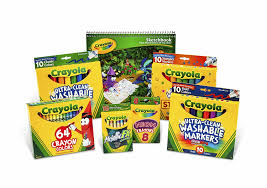 Crayola Bathtub Crayons 18 Vibrant Colors by Amazon Com Crayola Drawing And Coloring Kit For Kids Art Set
