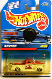 100 Hot Wheels Truck 40 Ford Exclusive Trailer Edition