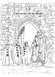 Harry Potter And The Philosophers Stone Coloring Pages 17