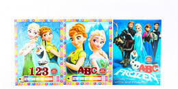 2017 Wholesale Frozen Coloring Book FROZEN Cartoon Baby Children Elementary Books Painting Drawing In