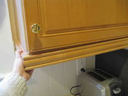 Kitchen Soffit Removal Ideas by Too Much Kitchen Cabinet Molding Sunshineandsawdust