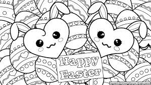 Download Coloring Pages Happy Easter Free Printable Davidedgell Line Drawings