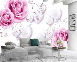 großhandel 3d tapete wohnzimmer romantische liebe rosa individuelle schöne ist hd innendekoration wallpaper yunlin188 11 37 auf