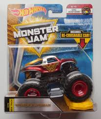 100 Shark Wreak Monster Truck 2018 Hot Wheels Jam 615 Wonder Woman 164 W Crush