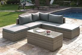 Outdoor Sectional Sofa Set by 6 Piece Patio Sectional Sofa Set
