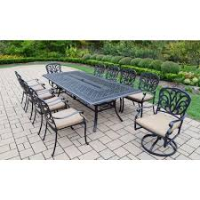 7 Piece Patio Dining Set With Umbrella by Sunbrella Fabric Patio Dining Sets Patio Dining Furniture