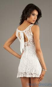 semi formal white lace dress white dress