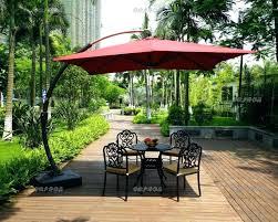 Garden Umbrella Stand Large Table Small Base Sun Patio