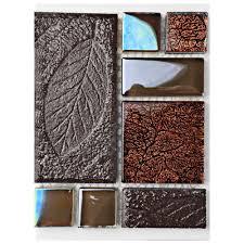 merola tile garden versailles walnut ceramic and glass mosaic tile