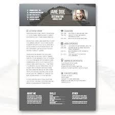 Creative Resume Templates Free Download Fabulous Resumes Throughout