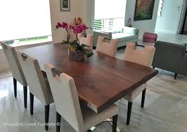 Remarkable Modern Wood Dining Room Tables With Contemporary Table