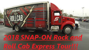 100 Snap On Truck Tool Box 2018 SNAP ON ROCK AND ROLL CAB EXPRESS TOUR YouTube