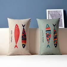 taie coussin canapé impression numérique personnalisé rectangle décoratif housse de