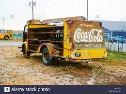 100 Iowa 80 Truck Stop Deserted CocaCola Delivery Truck Outside The