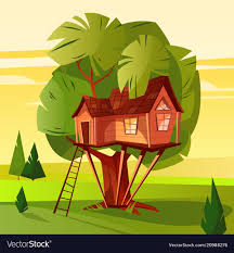 100 House In Forest Tree House In Forest