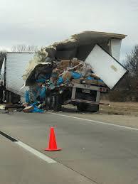 100 Fatal Truck Accidents Crash Involving Local Freight Near Henryetta Leaves I40