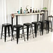 Counter Height Chairs With Backs by Kitchen Design Awesome Steel Bar Stools With Backs Industrial