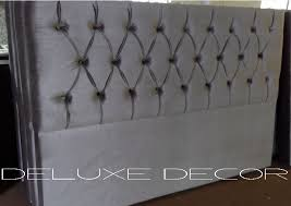 Gray Velvet King Headboard by Bedroom Trendy Items Similar To King Tufted Bed Headboard