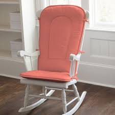 100 Rocking Chair Cushions Pink Solid Coral Pad Baby Pinterest Chair