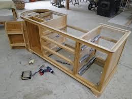 fabriquer cuisine fabriquer une cuisine en bois 13 ilot central de systembase co